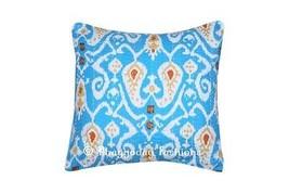 Kantha Vintage Indian Handmade Cotton Cushion C... - $16.99
