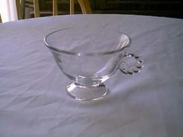 Fostoria Crystal Coronet Cup & Saucer - $9.90