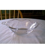 Fostoria Crystal Coronet 2 Handle Serving Bowl - $9.90