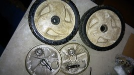 "5 Xx57 Toro Mower, Front Drive Wheels: 8"" X 1 7/8"" X 1/2"", With Gears, Axle Bolts - $24.55"