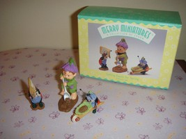 Hallmark 1997 Merry Miniatures Getting Ready For Spring - $10.49