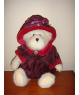 Boyds Bears Ms. Rouge Chapeau Red Hat Society Plush Bear - $15.49