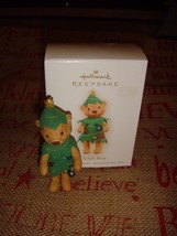 Hallmark 2009 O Teddy Bear Ornament - $9.49