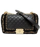 Chanel Boy Jacket Medium Black Flap Bag Limited Edition - $8,495.00