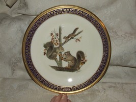 1979 LENOX Woodland Wildlife SQUIRRELS Plate Ltd Ed Designed by Boehm - $34.65
