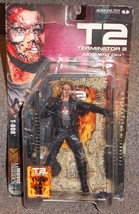 2001 McFarlane Toys Terminator 2 Judgment Day T-800 Figure New In The Pa... - $34.99