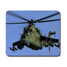Mil Mi-24 Helicopter Gunship Non Slip Washable Optical Gaming Mouse Pad ... - $6.99