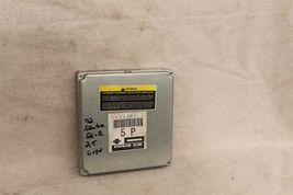 B15 Sentra SE-R SER Spec V 6spd MT ECU ECM PCM Engine Computer A56-Z61 B2P 5p image 3
