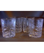 Set of Four  Fifth AvenueCrystal  Portico Pattern Old Fashioned Glasses NEW - $24.00