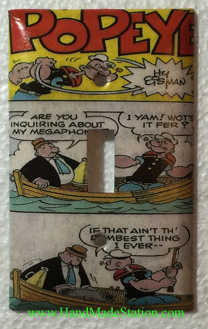 Popeye comics book toggle single