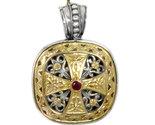 02003316 gerochristo 3316 byzantine medieval cross pendant 1 thumb155 crop