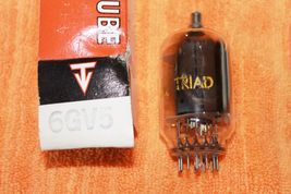 Vintage Radio Vacuum Tube (one): 6GV5 - NOS, Tested Good - $2.49