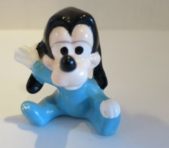 Vintage Walt Disney Productions Japan Baby Goofy Porcelain Figurine  - $15.87