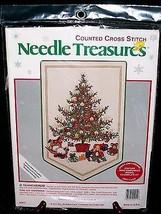 "Needle Treasures kit #02911 ""O Tannenbaum"" cross stitch - $14.80"