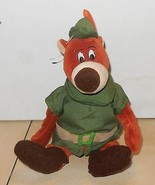 "Disney Store Exclusive Robin Hood Little John 8"" Beanie plush toy - $14.03"