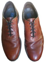 DEXTER USA Brown Saddle Shoes Oxfords Men's Rubber Sole Leather 12 Medium - $38.22