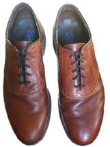 DEXTER USA Brown Saddle Shoes Oxfords Men's Rubber Sole Leather 12 Medium - $38.22