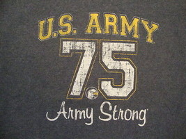 United States US Army Military Branch Army Strong Gray Distressed T Shirt M - $17.56