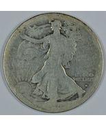 1916 S Walking liberty circulated silver half dollar Obverse mint mark - $57.50