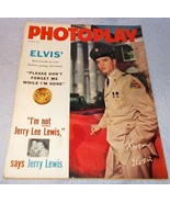 Celebrity Photoplay Magazine October 1958 Jerry Lewis Dick Clark Dance Book - $13.95