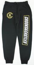 Men's Guys Crooks & Castle Core Logo Fleece Joggers Sweatpants Sweatsnew $75 - $44.99
