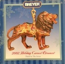 Breyer #700502 Holiday Carousel Ornament Lion 2002 - $25.00