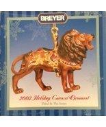 Breyer #700502 Holiday Carousel Ornament Lion 2002 - $25.00