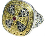 02002499 gerochristo 2499 byzantine medieval cross ring 1 thumb155 crop