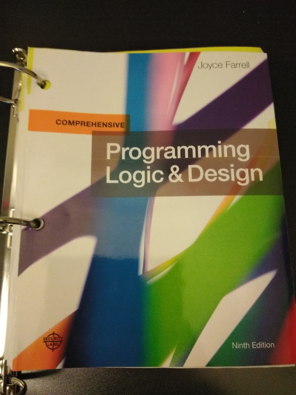 Programming Logic and Design Comprehensive Loose-leaf 9th Edition Joyce Farrell