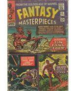 Fantasy Masterpieces #2 ORIGINAL Vintage 1966 Marvel Comics Cap Fin Fang... - $19.79