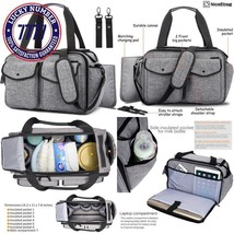 Niceebag Baby Diaper Bag With Insulated Pockets / Baby Diaper Tote Bag /... - $58.43