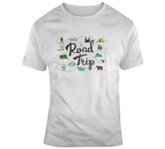 Road Trip Treasure Map T Shirt - $26.99