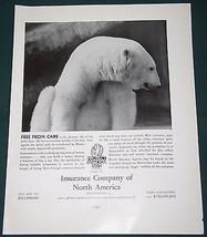 INSURANCE COMPANY OF NORTH AMERICA FORTUNE MAGAZINE AD 1937 - $14.99