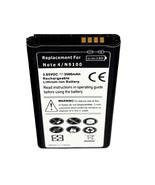 Samsung Galaxy Note 4 SM-N910FQ SM-N910G SM-N910FD Replacement Slim Batt... - $13.82