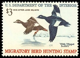 RW36, Mint VF-XF NH DUCK Stamp - Very fresh! Cat $70.00 - Stuart Katz - $45.00