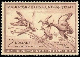 RW20, Mint DUCK STAMP - VF OG NH - VERY LOW PRICE! Cat $95.00 - $55.00