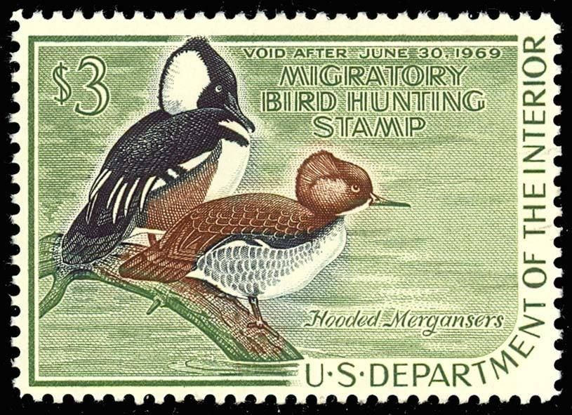 RW35, Mint DUCK STAMP - XF OG NH - Post Office Fresh!! Cat $75.00