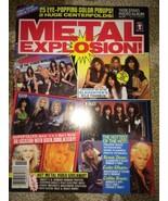 METAL EXPLOSION magazine 11/90 warrant/doro pes... - $13.99
