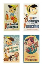 4 Pinocchio Magnets - $23.49