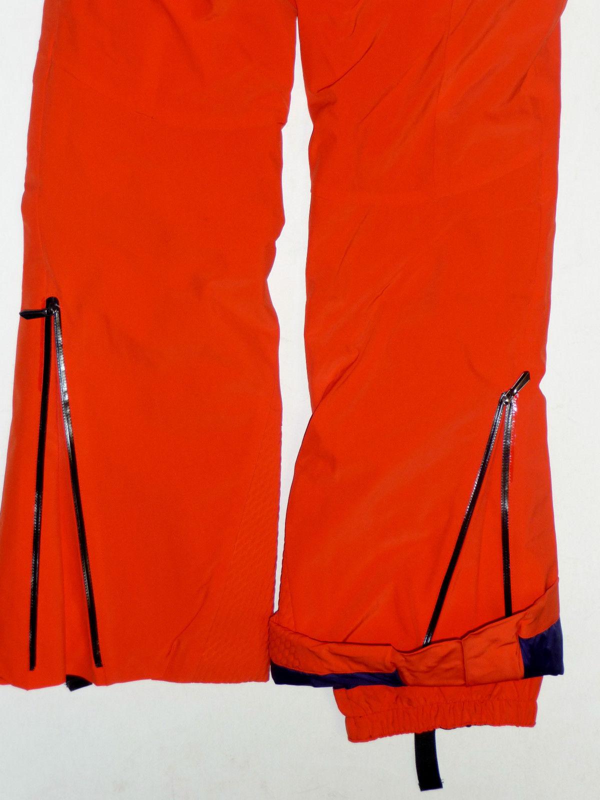 Spyder Ruby Pants Womens Ski Snowboard 20k Waterproof Insulated Orange 6 $400 image 6