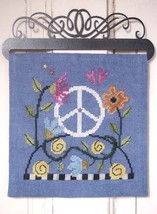 Find Peace Over The Hill Part 8 cross stitch chart SamSarah Designs - $12.50