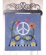 Find Peace Over The Hill Part 8 cross stitch chart SamSarah Designs - $279,56 MXN