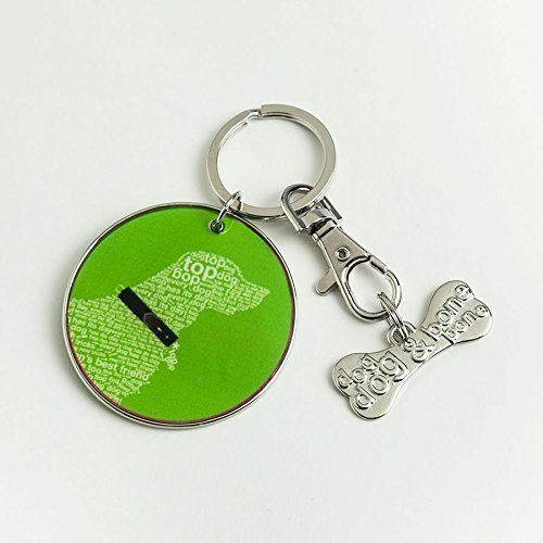 "Enesco Wild About Words Retriever Keychain Set, 2"" [Misc.]"