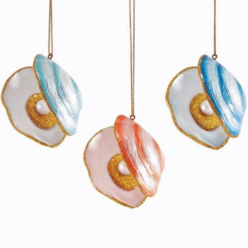 Department 56 Oyster Ornament Set (Set of 3) #4047139