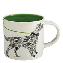 "Enesco Wild About Words Retriever Mug, 3.5"", Multicolor [Kitchen]"