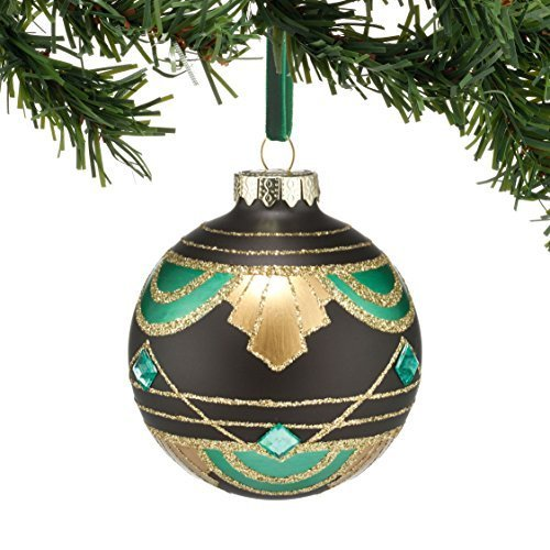 Department 56 Gallery Mixed Pattern Ball Ornament [Misc.]