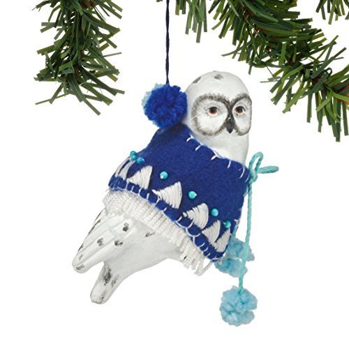 Department 56 Gallery Snowy Owl Ornament [Misc.]