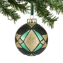 Department 56 Gallery Diamond Pattern Ball Ornament [Misc.]