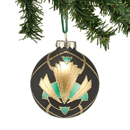 Department 56 Gallery Grid Pattern Ball Ornament [Misc.]