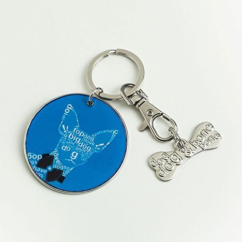 "Enesco Wild About Words Chihuahua Keychain Set, 2"" [Misc.]"